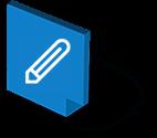 Icone lápis e auditoria